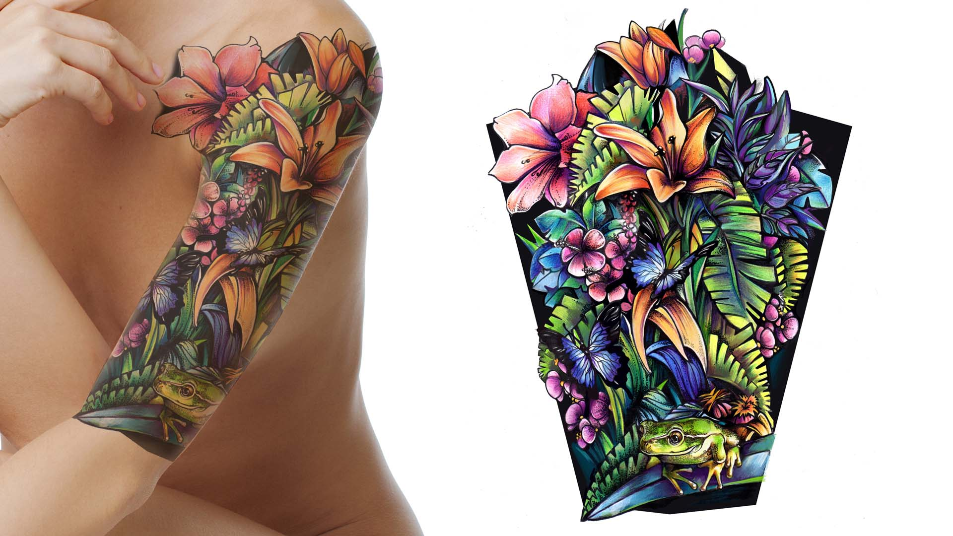 Choosing A Tattoo Studio For A Rose Vine Tattoos On Arm